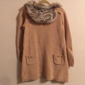 Beautiful Warm and cozy JANIE AND JACK dress 3T